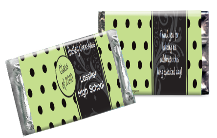 Graduation dots bar green